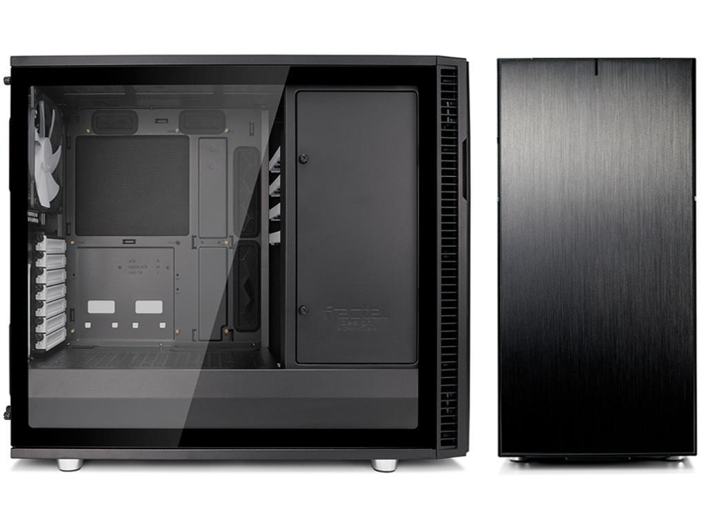 Корпус Fractal Design Define R6 Tempered Glass FD-CA-DEF-R6-BKO-TG