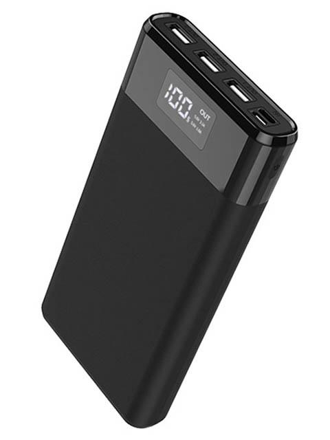 Внешний аккумулятор Hoco Power Bank B35E Entourage 30000mAh Black