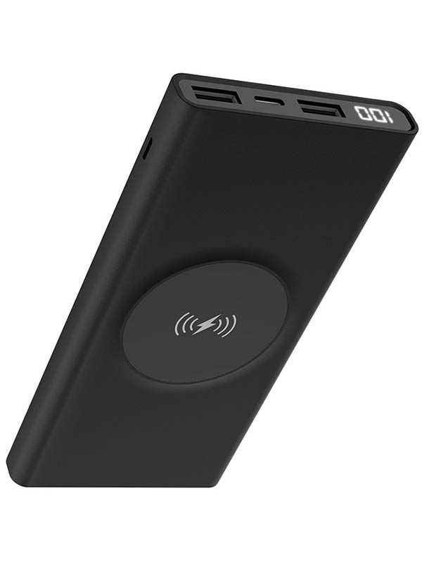 купить Внешний аккумулятор Hoco Power Bank J37 Wireless 10000mAh Black дешево