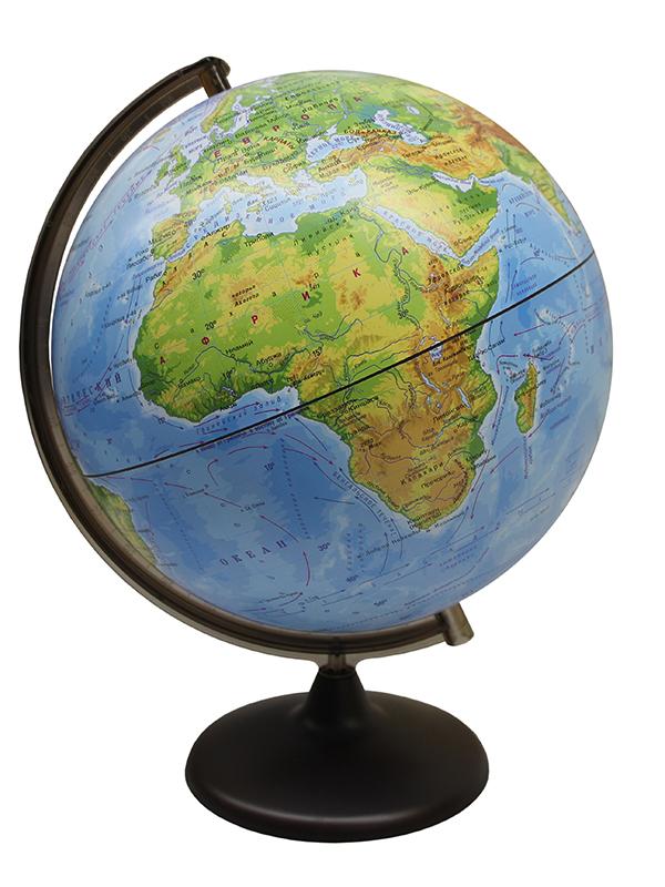 Глобус Глобусный Мир Физический 320mm сборно-разборный 10518