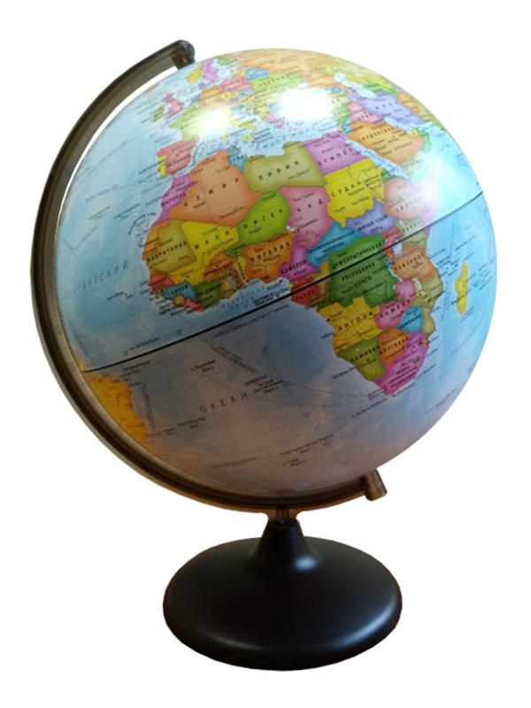 Глобус Глобусный Мир Политический 320mm сборно-разборный 10519