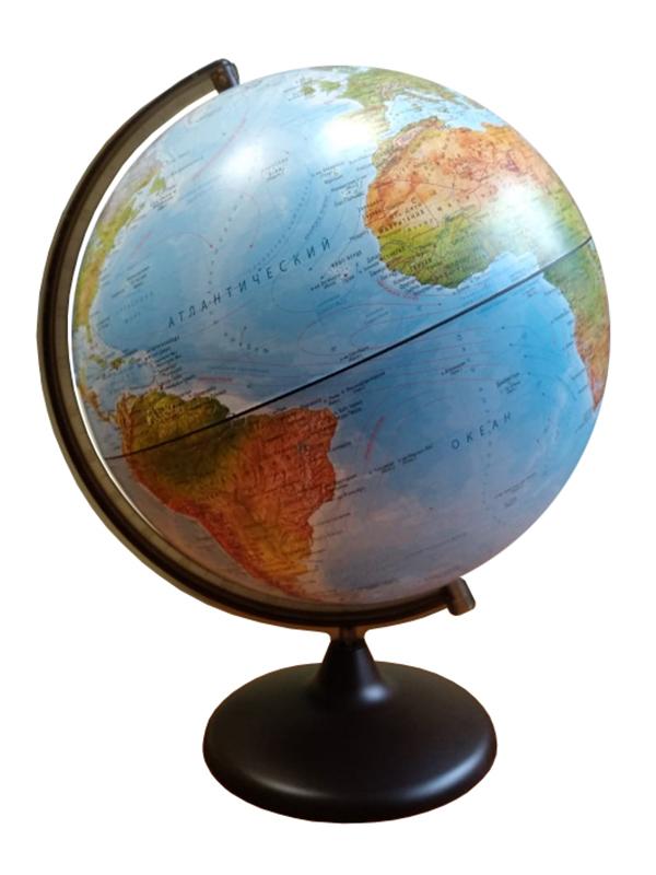 Глобус Глобусный Мир Географический 320mm сборно-разборный 10520
