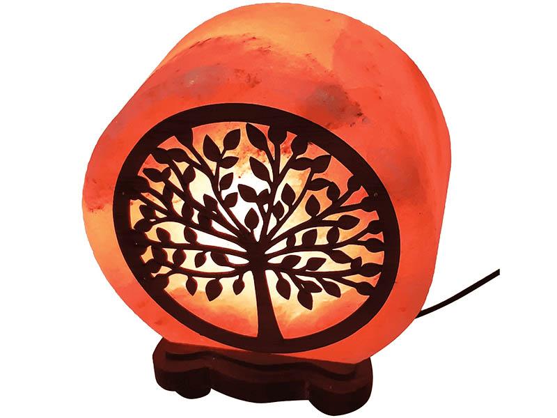 Солевая лампа Wonder Life Круг- 5 Денежное дерево 2-3кг SLL-12504