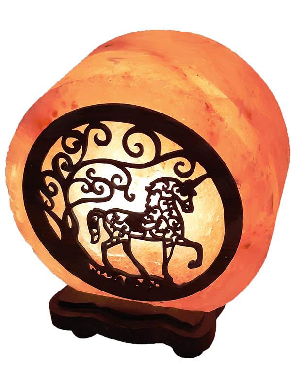 Солевая лампа Wonder Life Круг- 6 Единорог 3-4кг SLL-12602