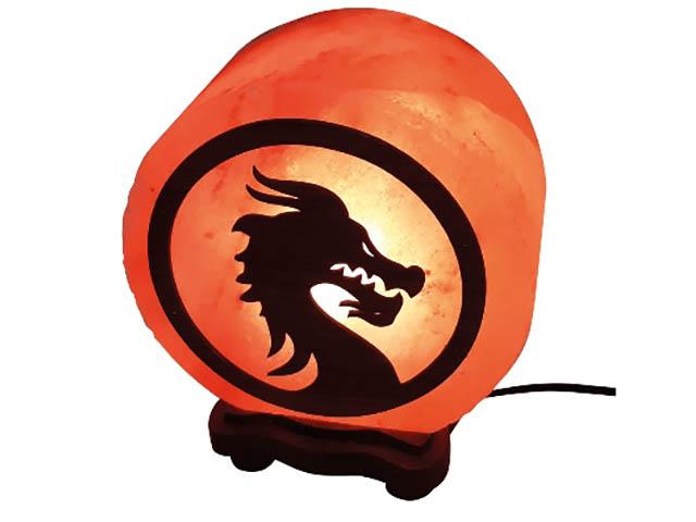 Солевая лампа Wonder Life Круг- 6 Дракон 3-4кг SLL-12606