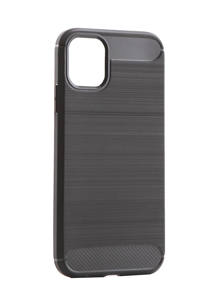 Накладка Zibelino для APPLE iPhone 11 Cover Back Elegant Black ZCBE-APL-11-BLK