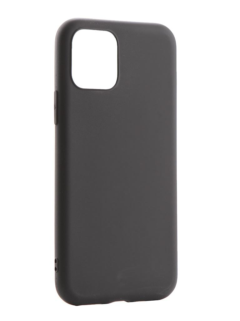 Фото - Аксессуар Чехол Zibelino для APPLE iPhone 11 Pro Soft Matte Black ZSM-APL-11PRO-BLK аксессуар чехол zibelino для apple iphone xr soft matte blue zsm apl xr blu