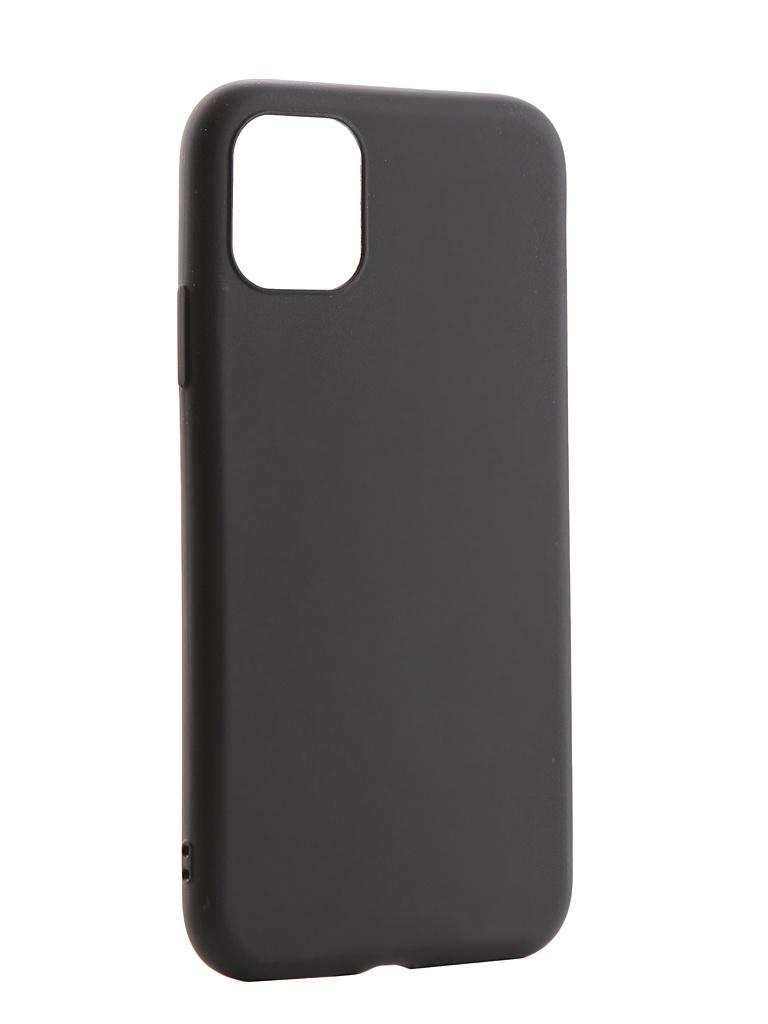 Фото - Аксессуар Чехол Zibelino для APPLE iPhone 11 Soft Matte Black ZSM-APL-11-BLK аксессуар чехол zibelino для apple iphone xr soft matte blue zsm apl xr blu