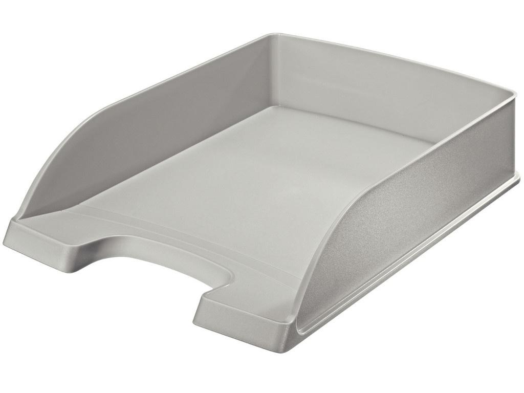 Лоток горизонтальный Leitz Plus Grey 52270085