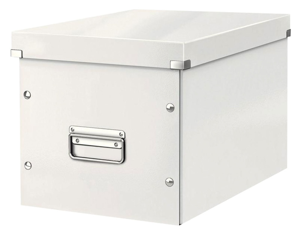 Короб архивный Leitz Click & Store L White 61080001