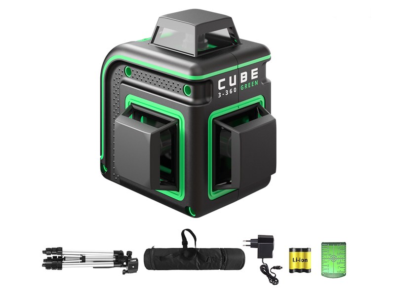 Нивелир ADA Cube 3-360 Green Professional Edition А00573