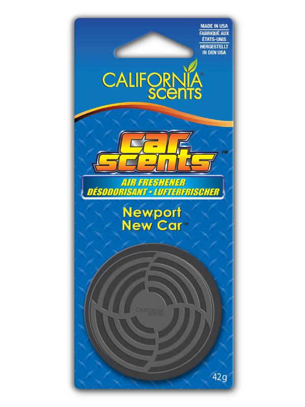 Освежитель воздуха автомобильный Energizer CS Банка на блистере Новая машина Ньюпорт 1шт E301414000 / 37316