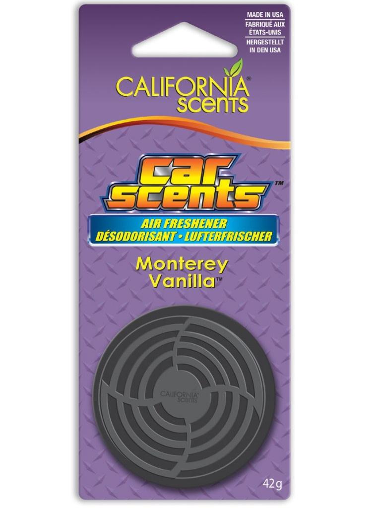 Освежитель воздуха автомобильный Energizer CS Банка на блистере Монтерейская ваниль 1шт E301413900 / 37315