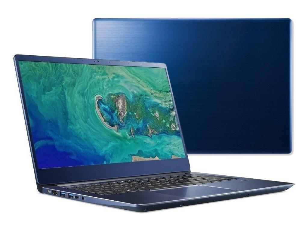 Ноутбук Acer Swift SF314-56-72K5 NX.H4EER.007 (Intel Core i7-8565U 1.8GHz/8192Mb/256Gb SSD/No ODD/Intel HD Graphics/Wi-Fi/Bluetooth/Cam/14.0/1920x1080/Linux) цена и фото