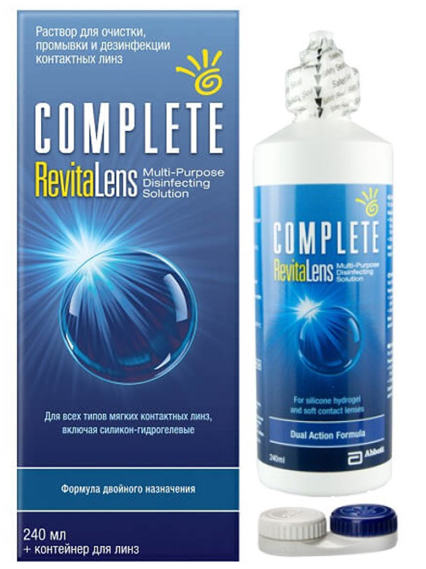 Фото - Раствор Johnson & Johnson Complete RevitaLens 240ml spencer johnson new one minute manager