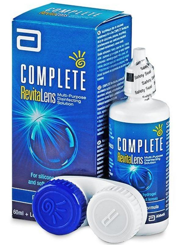 Раствор Johnson & Complete RevitaLens 60ml