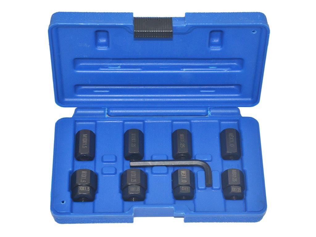 Инструмент Набор инструмента AV Steel для монтажа/демонтажа шпилек 6.8.10mm 9 предметов AV-921095