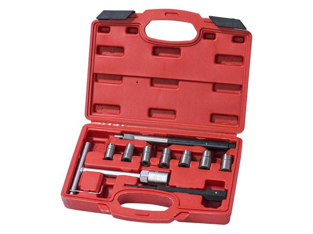 Инструмент Набор AV Steel для притирки седел форсунок дизельного ДВС 10 предметов AV-920027