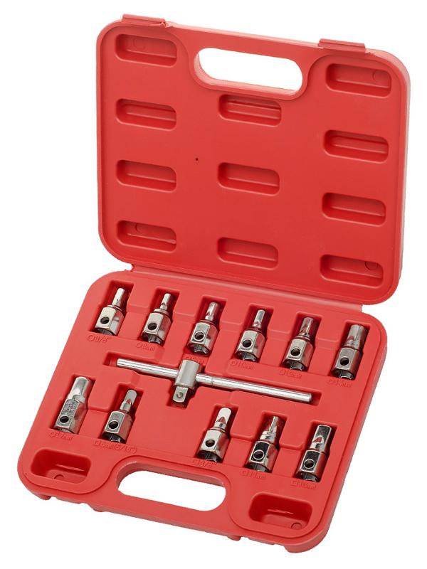 Инструмент Набор головок AV Steel для масляных пробок 12 предметов AV-924012