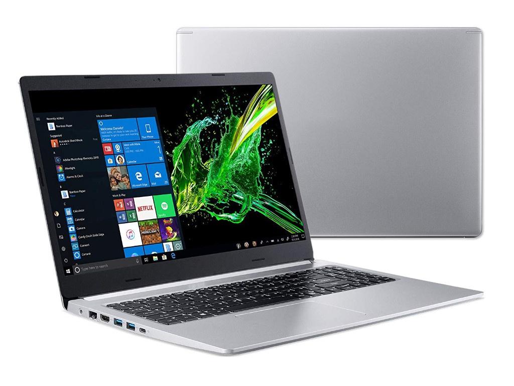 Ноутбук Acer Aspire A515-54-3571 NX.HFNER.001 (Intel Core i3-8145U 2.1GHz/4096Mb/256Gb SSD/Intel HD Graphics/Wi-Fi/Bluetooth/Cam/15.6/1920x1080/Windows 10 64-bit) цена и фото