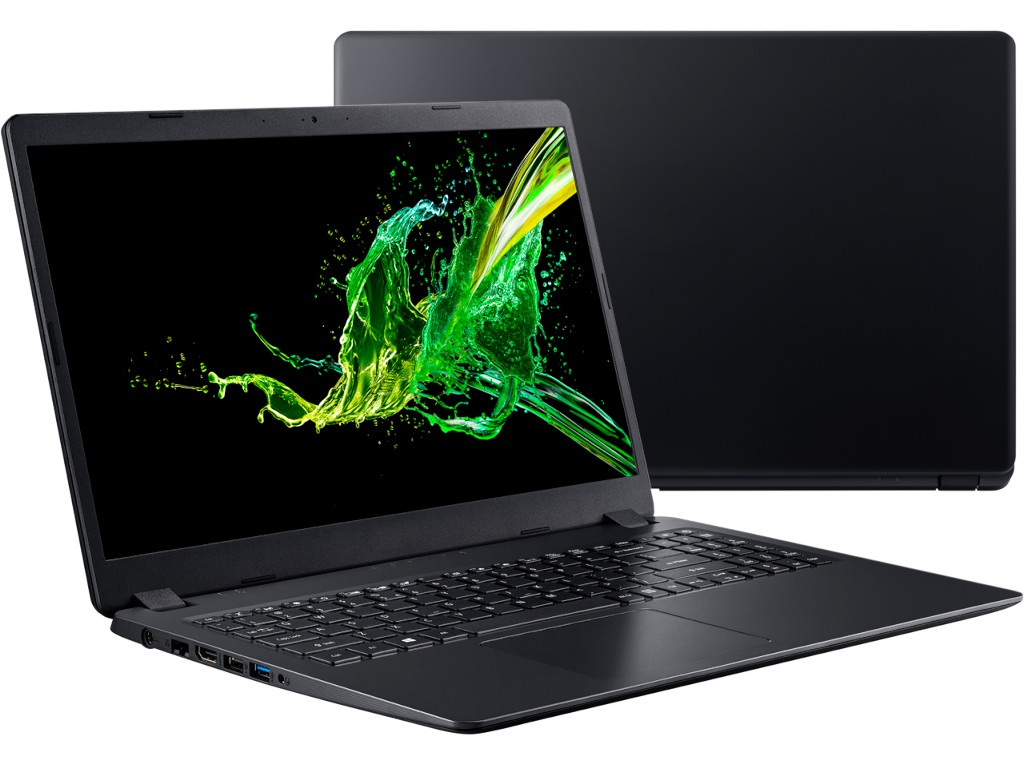 Ноутбук Acer Aspire A315-54K-307B NX.HEEER.006 (Intel Core i3-7020U 2.3GHz/4096Mb/128Gb SSD/Intel HD Graphics/Wi-Fi/Bluetooth/Cam/15.6/1920x1080/Linux)