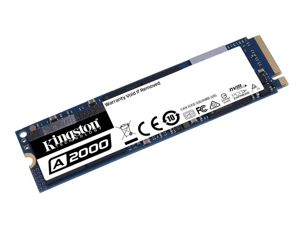 Твердотельный накопитель Kingston A2000 SSD 1Tb SA2000M8/1000G