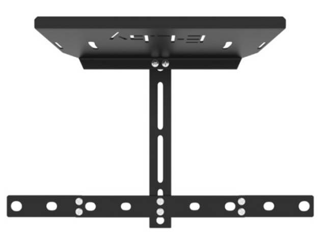 Кронштейн Electriclight КБ-01-75 для крепления ТV тюнера / веб-камеры камеры игровых консолей (до 3кг) Black