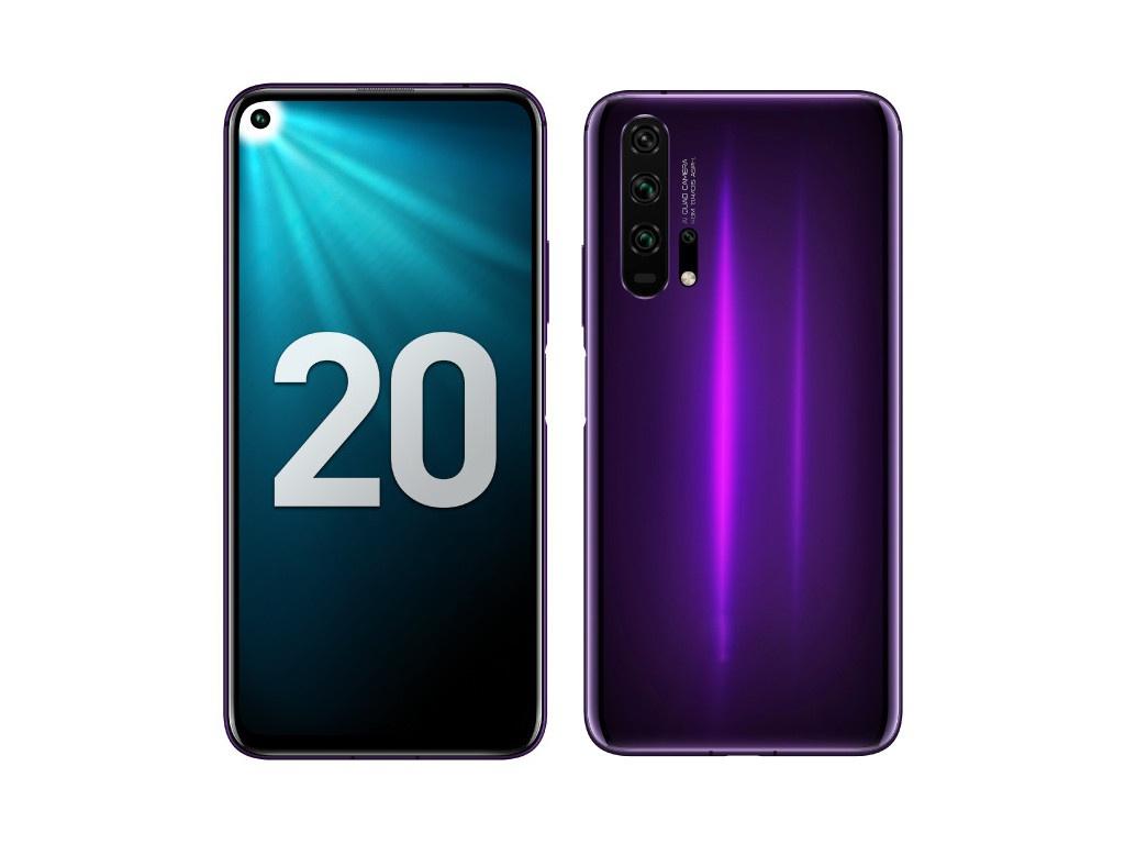 Сотовый телефон Honor 20 Pro 256Gb Phantom Black-Purple Выгодный набор + серт. 200Р!!!