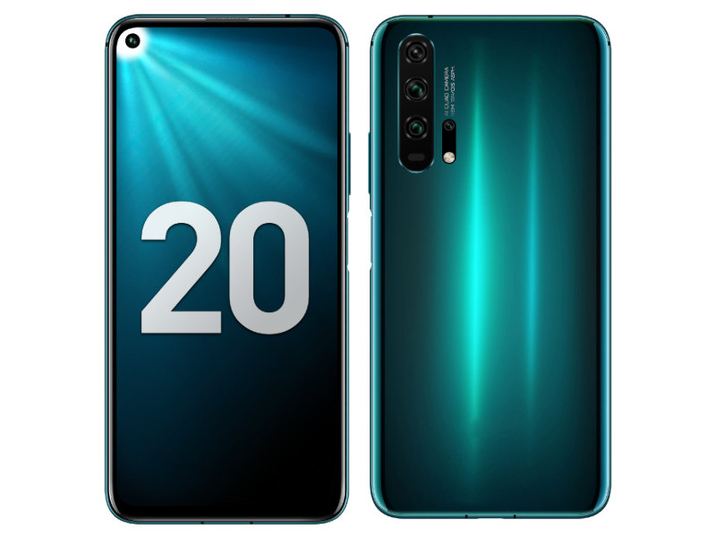 Сотовый телефон Honor 20 Pro 256Gb Phantom Blue Выгодный набор + серт. 200Р!!!