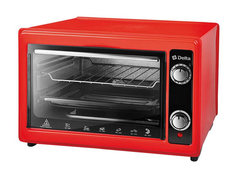 Мини печь DELTA D-0122 Red