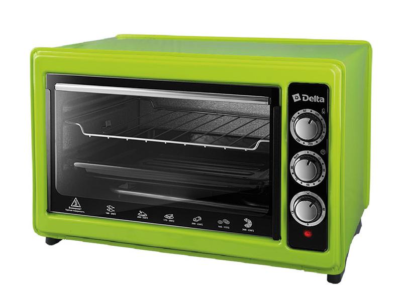 Мини печь DELTA D-0123 Green