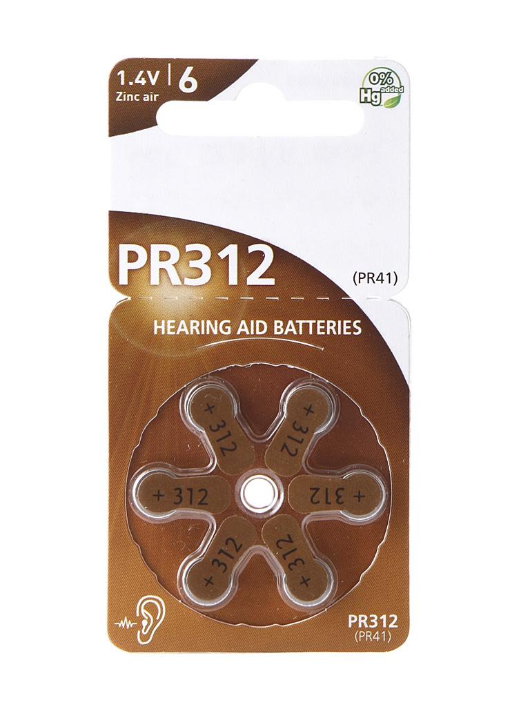 Аксессуар Panasonic PR-312/6LB Red Zink (6 штук) 96668