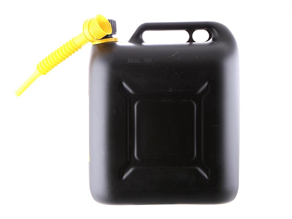 Канистра Пластиковая для ГСМ 20L Black 47091