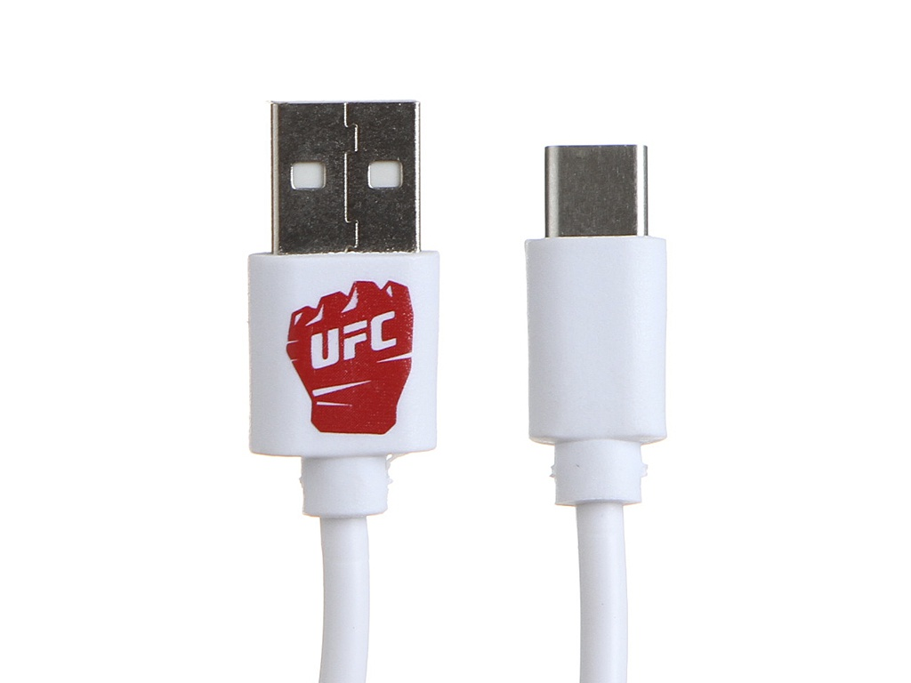 Аксессуар Red Line UFC USB - Type-C White УТ000018832