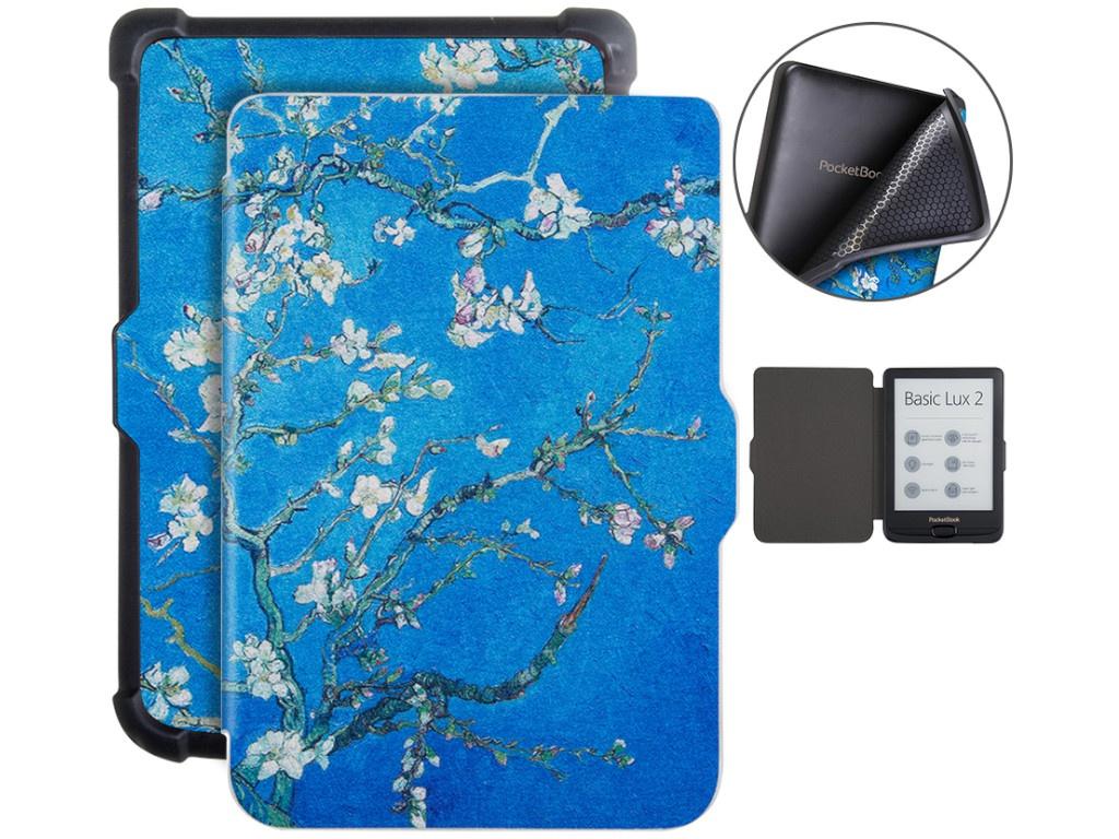 Аксессуар Чехол BookCase для PocketBook 616/627/632 Sakura BC-632-sak