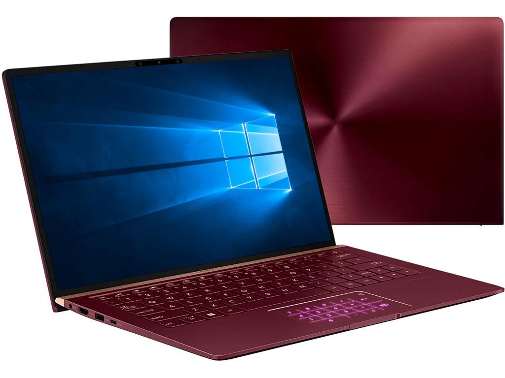 Ноутбук ASUS UX333FN-A4177T Burgundy Red 90NB0JW6-M04120 (Intel Core i7-8565U 1.8 GHz/16384Mb/1000Gb SSD/nVidia GeForce MX150 2048Mb/Wi-Fi/Bluetooth/Cam/13.3/1920x1080/Windows 10 Home 64-bit)