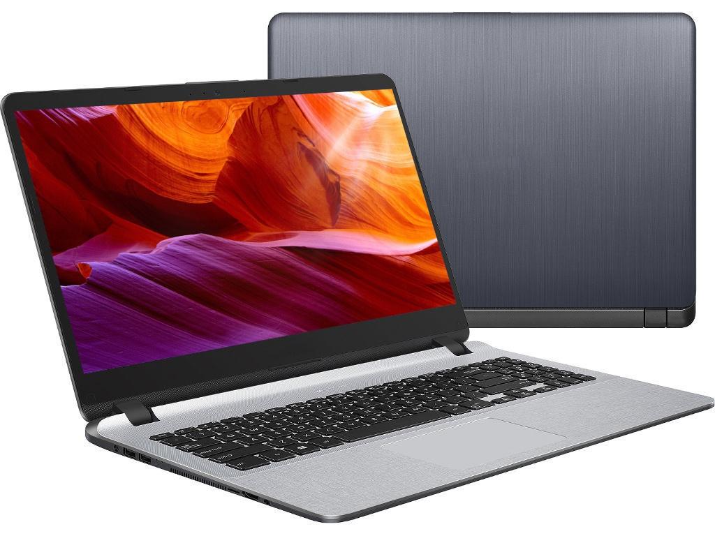 Ноутбук ASUS X507UF-EJ503 Star Grey 90NB0JB1-M06390 (Intel Core i3-7020U 2.3 GHz/6144Mb/1000Gb/nVidia GeForce MX130 2048Mb/Wi-Fi/Bluetooth/Cam/15.6/1920x1080/Endless OS)