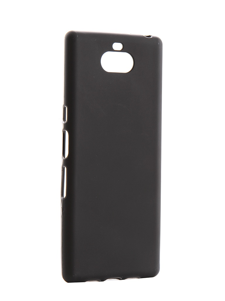 Аксессуар Чехол Svekla для Sony Xperia 10/Xperia XA3 Silicone Black SV-SOXP10-MBL