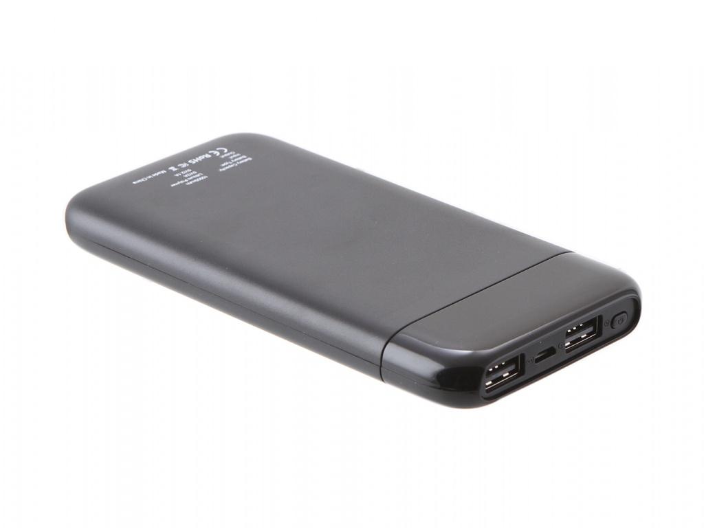 Аккумулятор Cactus 10000mAh 2xUSB Black CS-PBFSST-10000 все цены