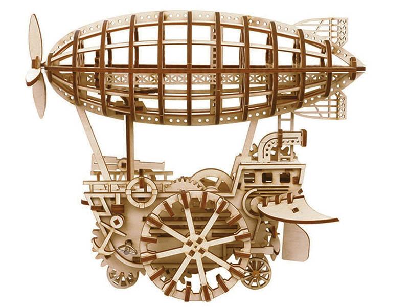 Конструктор DIY House Дирижабль с механическим заводом LK702