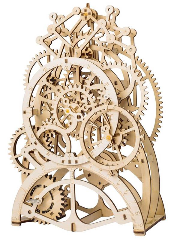 Конструктор DIY House Маятниковые часы с механическим заводом LK501