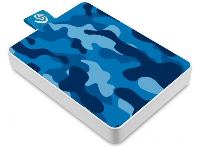 Жесткий диск Seagate One Touch SSD Special Edition 500Gb STJE500406 Blue
