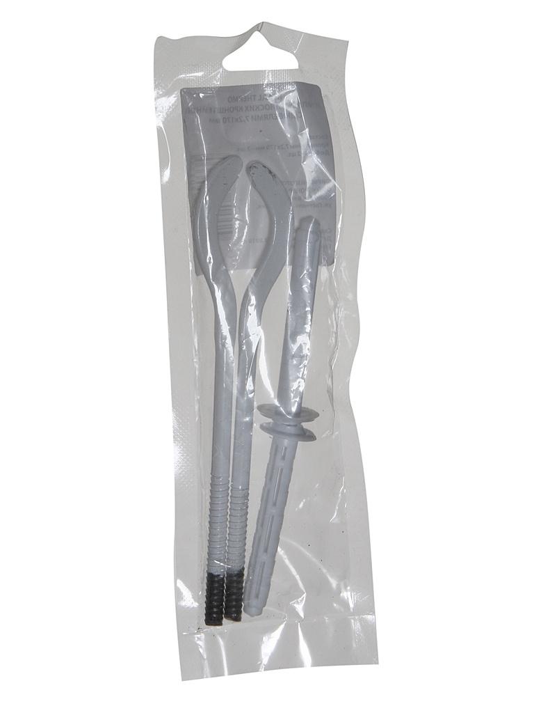 Комплект кронштейнов с дюбелями Royal Thermo 7.2x170mm RT06