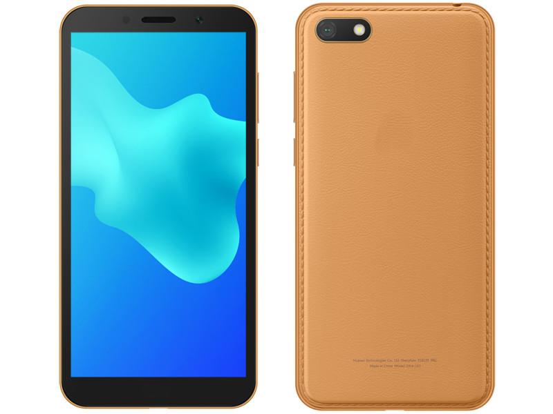 Сотовый телефон Huawei Y5 Lite 2018 1/16Gb Amber Brown Выгодный набор + серт. 200Р!!!