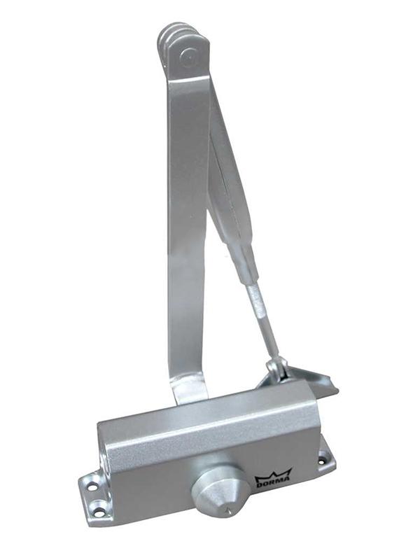 Доводчик дверной Dorma TS Nano Grey с рычагом DIY