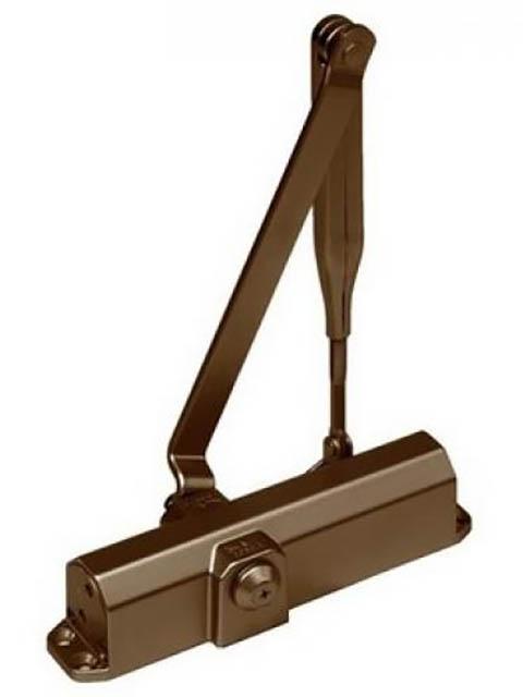 Доводчик дверной Dorma TS Compakt EN 2/3/4 Brown с рычажной тягой