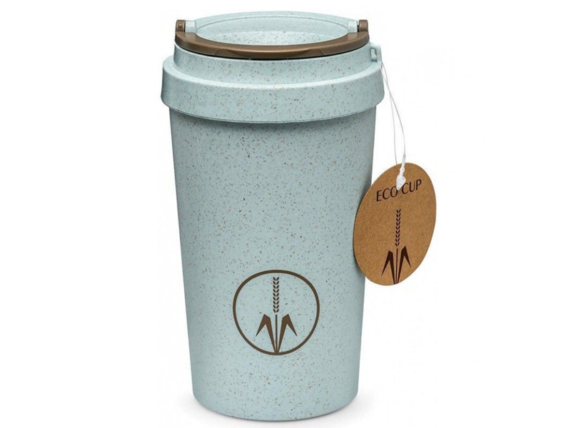 Термокружка Walmer Eco Cup 400ml Light Blue W24201801