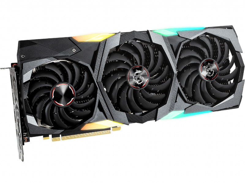 Видеокарта MSI GeForce RTX 2080 1815Mhz PCI-E 3.0 8192Mb 15500Mhz 256 bit 3xDP HDMI USB-C HDCP SUPER GAMING TRIO