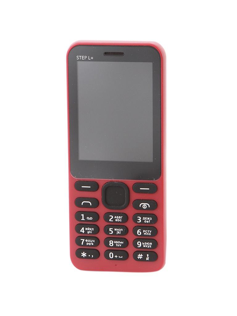 Сотовый телефон BQ 2431 Step L+ Red