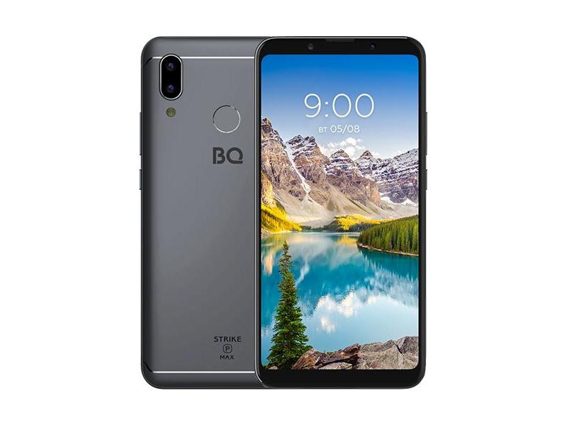 Сотовый телефон BQ 6035L Strike Power Max Gray цена и фото